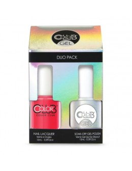 Zestaw Color Club Duo Gel Polish - N38 Blaze