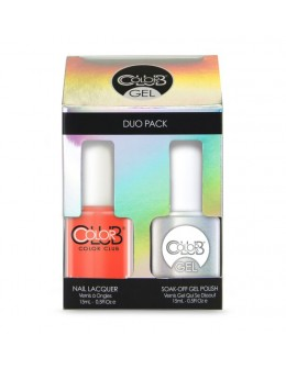 Zestaw Color Club Duo Gel Polish - N39 Sweet As Sugarcane