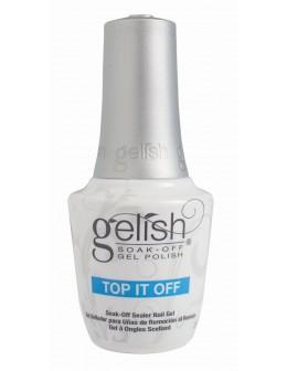 Hand&Nail Harmony GELISH Soak Off Top It Off NEW 0.5oz.