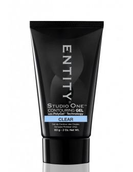 Żel Entity Studio One POLYGEL 2oz/60g - Clear Frost