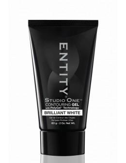 Żel Entity Studio One POLYGEL 2oz/60g - Brilliant White