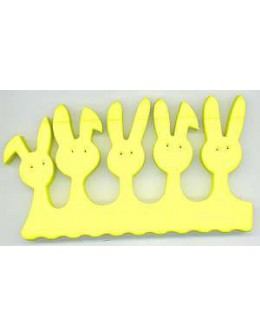 Separatory króliczki (para) - żółte