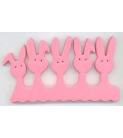 Fun Toe Spacers Bunny (1 pair) pink