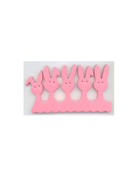 Separatory króliczki (para) - różowe