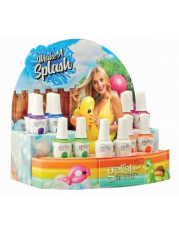 Gelish Make a Splash Collection Display 14pcs.