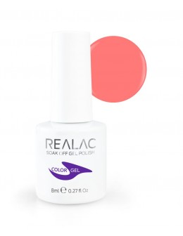 Żellakier Realac Soak Off Gel Polish 8ml - 108 - Rum Runner
