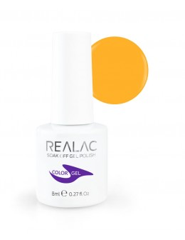 Żellakier Realac Soak Off Gel Polish 8ml - 109 - Mai Tai