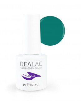 Żellakier Realac Soak Off Gel Polish 8ml - 110 - Blue Lagoon