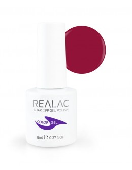 REALAC Soak Off Gel Polish 8ml - 132 - Maggie