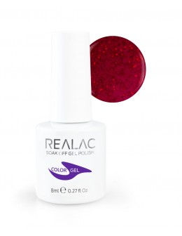 REALAC Soak Off Gel Polish 8ml - 134 - Secret Love