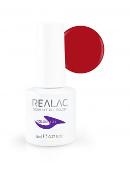 REALAC Soak Off Gel Polish 8ml - 135 - Sexy Look