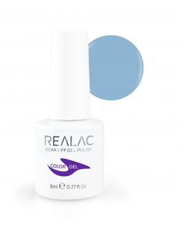 Żellakier Realac Soak Off Gel Polish 8ml - 136 - BlueStone