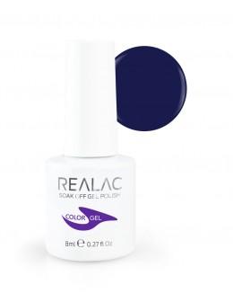 Żellakier Realac Soak Off Gel Polish 8ml - 137 - Lollipop Purple