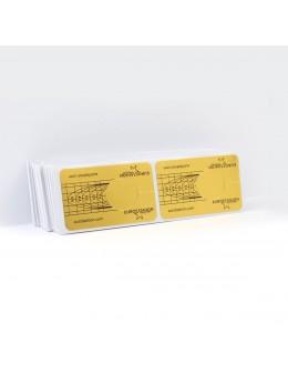 Formy do akrylu EF 100szt - złote