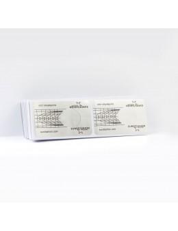 Formy do akrylu EF 100szt - srebrne