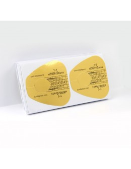 Formy do akrylu duże 100szt - złote