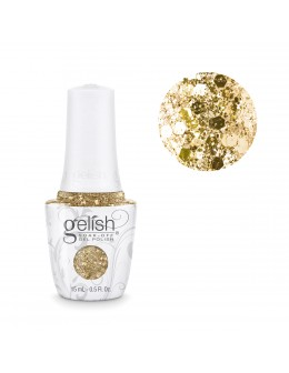 Gelish Soak-Off- Gel Polish 15ml - ALL THAT GLITTERS IS GOLD