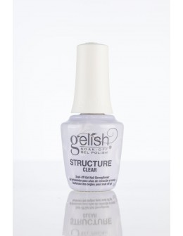 Żel Hand&Nail Harmony Gelish Structure Brush-on Clear 15ml