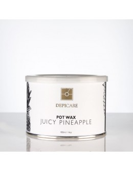 Depi Care Fragrance Pot Wax 400ml - Juicy Pineapple