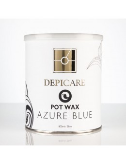 Depi Care Classic Pot Wax 800ml - Azure Blue