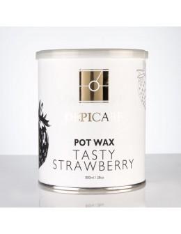 Depi Care Fragrance Pot Wax 800ml - Tasty Strawberry