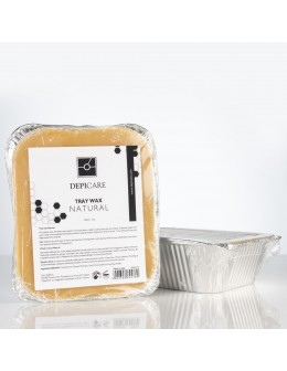 Wosk Depi Care Tray Wax 500ml - Natural