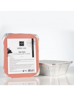 Wosk Depi Care Tray Wax 500ml - Titanium Pink