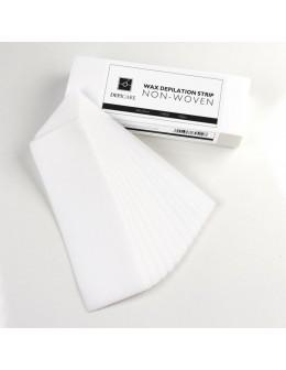 Paski do depilacji Depi Care Non-Woven Wax Remover Cloths - Large - 100szt.