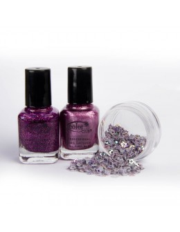 A set of 2 varnishes Color Club mini - set 3
