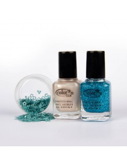 A set of 2 varnishes Color Club mini - set 6