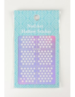 Airbrush Nail Art Hollow Sticker - STZ-K05
