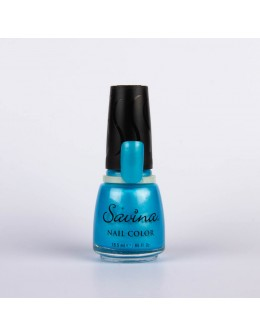Savina Nail Lacquer 0.65oz. - Blue Light