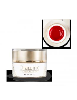 RaNails DRAWING Elastic Art Gel 5g - Red