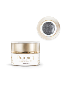 RaNails DRAWING Elastic Art Gel 5g - Silver