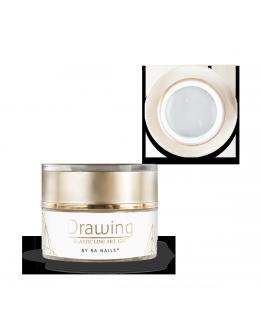 RaNails DRAWING Elastic Art Gel 5g - White