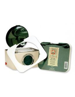 Ochraniacze na podgrzewacz wosku CleanEasy Deluxe Pot Wax Collars 50szt. (bez podgrzewacza)