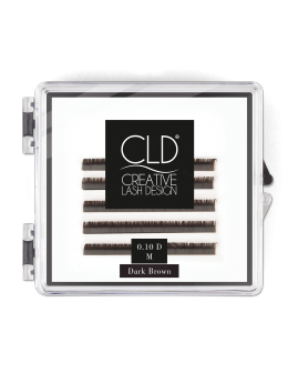 CLD Silk Lashes Dark Brown