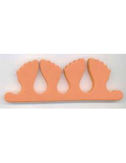 Separatory stópki (para) - pomarańczowe