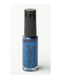 Lakier do zdobień Art Club 7ml - blue glitter