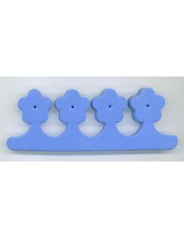 Separatory kwiatki (para) - niebieskie