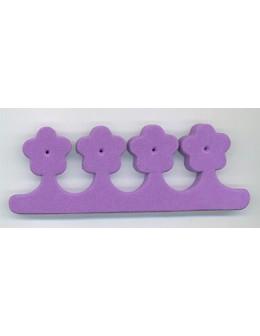 Separatory kwiatki (para) - fioletowe