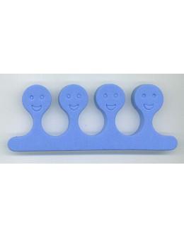 Separatory buźki (para) - niebieskie