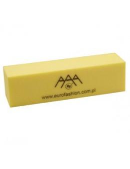 Blok polerski z logo EF - żółty