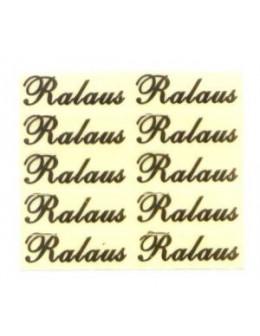 Ozdoby metalowe złote 10szt - Ralaus