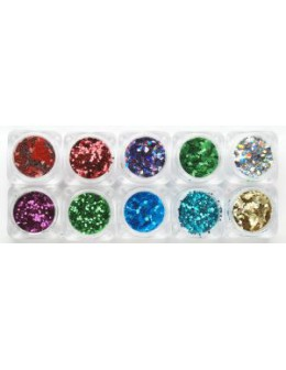 Zestaw ozdób Christrio Glitter Pack - Original