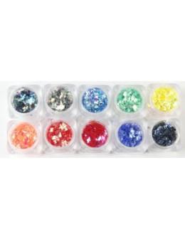 Zestaw ozdób Christrio Glitter Pack - Random