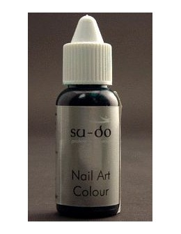 Farbka do paznokci SuDo Brilliant Nail Art Colour - 15ml - Brilliant Green