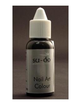 Farbka do paznokci SuDo Brilliant Nail Art Colour - 15ml - Pale Grey
