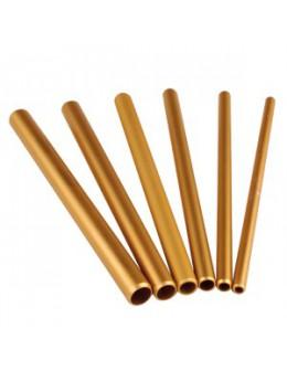 Rurki RaNails Artificial Nail Tool 6szt. - złote