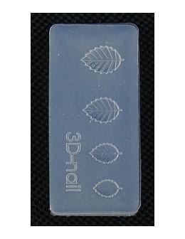 Foremki silikonowe EF 3D Nail Art Mold - listki (si-010)
